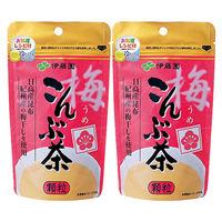 伊藤園 梅こんぶ茶 1セット(55g×2袋)