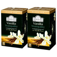 AHMAD TEA バニラ ティーバッグ 1セット(40バッグ:20バッグ入×2箱)