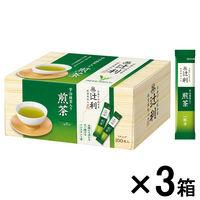 辻利 インスタント煎茶 1セット(300本:100本入×3箱)
