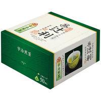 辻利 三角ティーバッグ 宇治煎茶 1箱(50バッグ入)