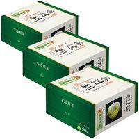 辻利 三角ティーバッグ 宇治煎茶 1セット(150バッグ:50バッグ入×3箱)