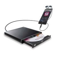 ロジテック Android用CD録音ドライブ BK LDR-PMJ8U2RBK 1個 (直送品)