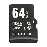 エレコム 高耐久仕様アクションカメラ用microSDXCメモリカード MF-ACMR064GU11A 1個 (直送品)