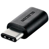エレコム USB2.0変換アダプタ(Type-C-micro-B) MPA-FMBFCMADBK 1個 (直送品)