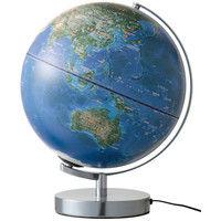 レイメイ藤井 衛星画像地球儀 30cm OYV257 (直送品)