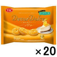 【アウトレット】ヤマザキビスケット デコールドルチェ チーズケーキ味 1箱(200個:10個入×20袋)
