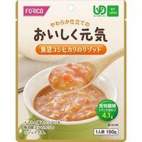 ホリカフーズ おいしく元気 魚沼さんコシヒカリのリゾット 1箱(12袋入) 【UDF区分:舌でつぶせる】(取寄品)