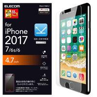 エレコム iPhone8/フィルム/反射防止  PM-A17MFLT 1枚(直送品)