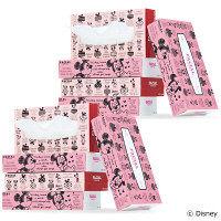 ティッシュペーパー 160組(5箱入) ディズニーティシューモダン 1セット(2パック) 日本製紙クレシア