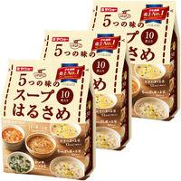 5つの味のスープはるさめ (かきたま・ちゃんぽん風・わかめ・担々風・チゲ風) 1セット(3袋)