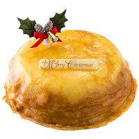 【クリスマスケーキ2017】 ドトールコーヒー クリスマスミルクレープ 【予約販売】 (直送品)【LOHACO販売品】