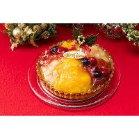 【クリスマスケーキ2017】フロ プレステージュパリ 6種のフルーツタルト 【予約販売】 (直送品)【LOHACO販売品】