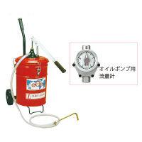 オイルバケットポンプ(流量計付) H20-0M (直送品)