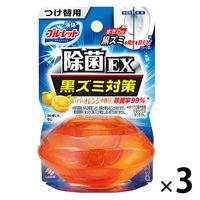 液体ブルーレットおくだけ除菌EX トイレタンク芳香洗浄剤 つけ替え用 スーパーオレンジ 70ml×3個 小林製薬