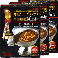 エスビー食品 神田カレーグランプリ 欧風カレーボンディ チーズカレー お店の中辛 1セット(3個)
