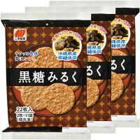三幸製菓 黒糖みるく 1セット(3袋入)