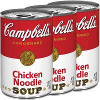 キャンベル チキンヌードル 3缶