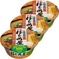 明星食品 明星 低糖質麺 はじめ屋 こってり味噌味 797504 3個