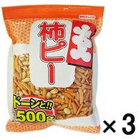 カネタ 大入り柿ピー 3袋