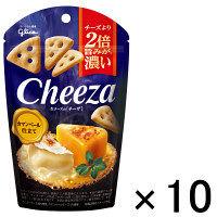 江崎グリコ 生チーズのチーザ カマンベール仕立て 1セット(10個)