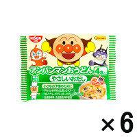【アウトレット】日清食品 アンパンマンおうどん 1セット(24食:4食入×6パック)
