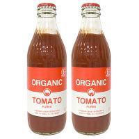 【LOHACO限定】オーガニックトマトピューレー 320g 光食品 1セット(2本入)