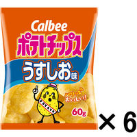 ポテトチップスうすしお味 60g 6袋