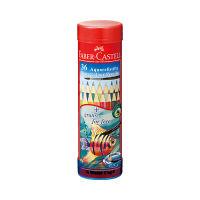 シヤチハタ ファーバーカステル 水彩色鉛筆 丸缶 36色セット TFC-115936 1セット(36色) (取寄品)