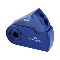 シヤチハタ ファーバーカステル 鉛筆削り(角型) ブルー TFC-182797-2 (取寄品)