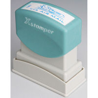 シヤチハタ XスタンパーB型藍 VIAAIRMAIL  XBN-13433 (取寄品)