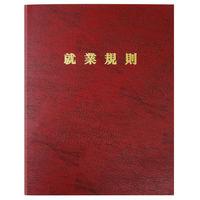 日本法令(HOREI) 高級就業規則ファイル(赤) A4 労基29-FR 1冊(取寄品)