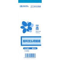 日本法令 給料支払明細書 給与4 (取寄品)