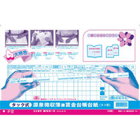 日本法令 タック式源泉徴収簿兼賃金台帳台紙 kari20171102-599 1冊