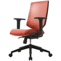 SIDIZ T30チェア オフィスチェア 可動肘付 キャロットオレンジ FHTN302RF014 1脚 (直送品)