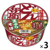 日清食品 日清のどん兵衛 天ぷらそばミニ(西日本版) 24757 3個