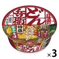 日清食品 日清のどん兵衛 特盛天ぷらそば(西日本版) 24173 3個