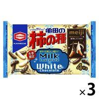亀田の柿の種チョコ&ホワイトチョコ 3袋