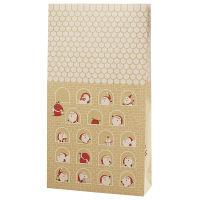 ササガワ ギフトバッグ 角底袋 豆サンタ 大 50-3513 1包(50枚入) (取寄品)