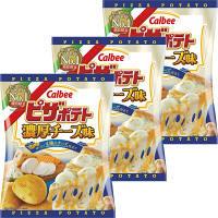 カルビー 60gピザポテト濃厚チーズ味 1セット(3袋入)