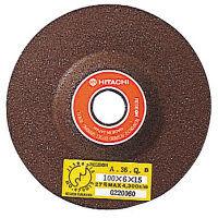 日立工機 レジノイド砥石100mm×6×15 (A/WA24Q) (20入) 00950403 (直送品)