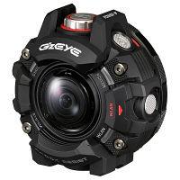 カシオ計算機 アクションカメラ COOL STREET GEAR G`z EYE GZE-1BK 1台  (直送品)