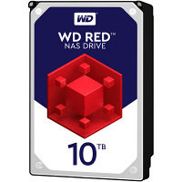WESTERN DIGITAL WD Red 3.5インチ内蔵HDD 10TB SATA6Gb/s 5400rpm 256MB WD100EFAX  (直送品)