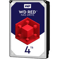 WD Redシリーズ 3.5インチ内蔵HDD 4TB SATA6.0Gb/s IntelliPower 64MB WD40EFRX-RT2  (直送品)