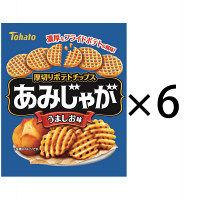 東ハト あみじゃが うましお味 1セット(6袋入)