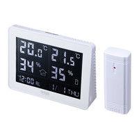 サンワサプライ ワイヤレスデジタル温湿度計(送信機付き) CHE-TPHU4 1個 (直送品)