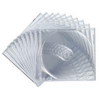 サンワサプライ DVD・CDケース(クリアー) FCD-PN10C 1セット(10枚入り) (直送品)