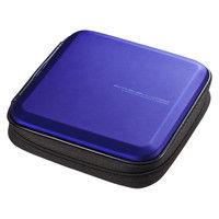 サンワサプライ ブルーレイディスク対応セミハードケース(24枚収納・ブルー) FCD-WLBD24BL 1個 (直送品)