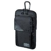 サンワサプライ スキミング防止ポケット付きマルチガジェットケース(L) PDA-MGSG3BK 1個 (直送品)