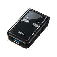 サンワサプライ USB3.0切替器(2回路) SW-US32 1個 (直送品)