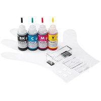 サンワサプライ 詰め替えインク INK-C321S30S4 1個 (直送品)